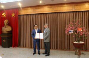 Đồng chí Phạm Văn Toàn được bổ nhiệm giữ chức Phó Cục trưởng Cục An toàn bức xạ và hạt nhân